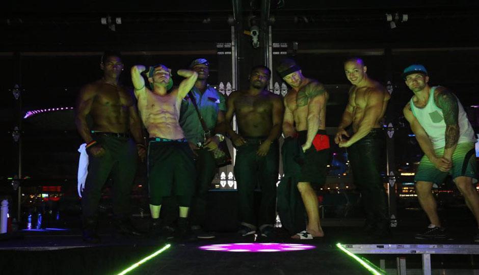 bachelorette party stripper naked